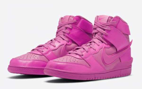 "Newest CU7544-600 Ambush x Nike Dunk High""Cosmic Fuchsia"" Releasing Soon"