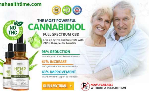 Nature Relief CBD – Reduce Stress, Depression & Pain Naturally!