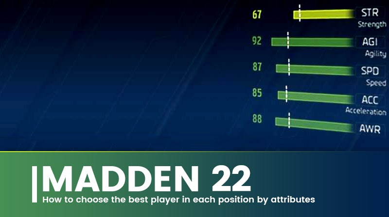 Madden 22: How to choose the best player in each position by attributes