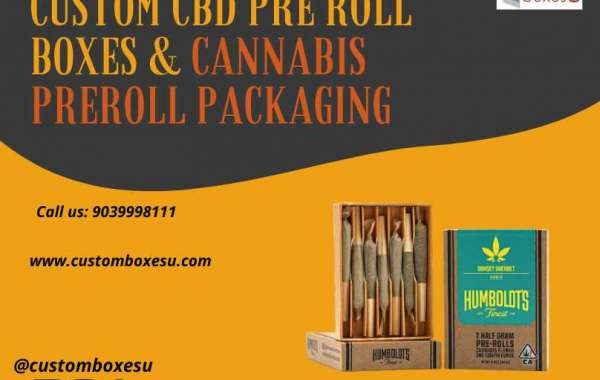 Our durable and sustainable CBD pre roll boxes & cannabis preroll boxes